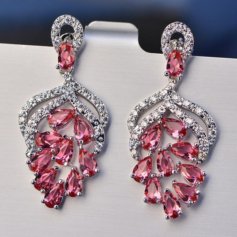 Vintage Drop Earrings For Women 925 Sterling Silver