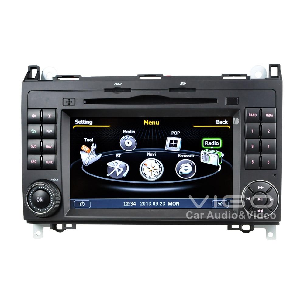 car stereo gps navigation for mercedes benz a b v class viano vito sprinter auto multimedia. Black Bedroom Furniture Sets. Home Design Ideas