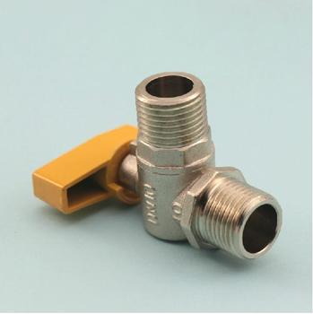 Brass valve Gas Angle valve 1/2 gas water heater   valve household tap water pressure reducing valve regulator valve water heater water purifier constant pressure valve brass thickening