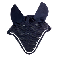 MOYLOR Horse Ear Cover Reflector Horse Equipment Outdoor Equestrian ChevalHorse Riding Breathable Meshed Knitted A