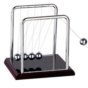 Early Fun Development Educational Desk Toy Gift Newtons Cradle Steel Balance Ball