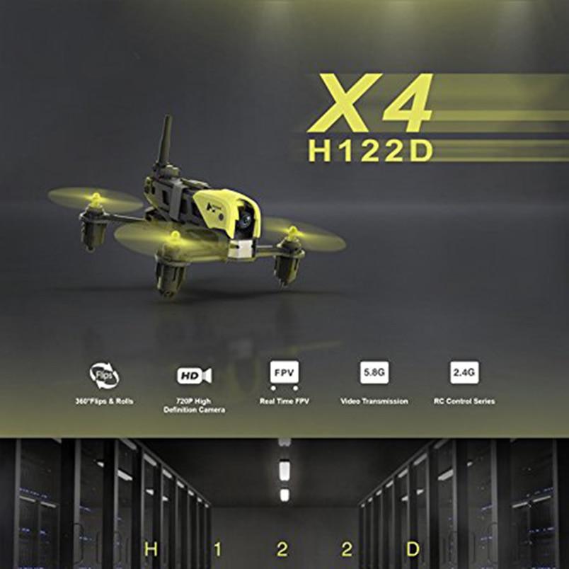 Hubsan H122D X4 5.8G Storm FPV Micro Racing Drone 3D Roll W/ 720P HD Camera Goggles Compatible Fatshark RC Quadcopter