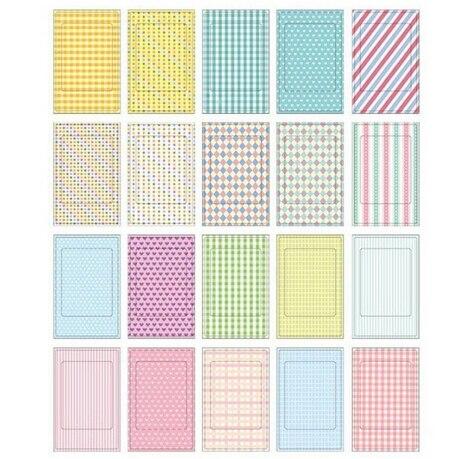 20 Pcs/Lot Photo Albums Memo Stickers DIY Scrapbook Decorative Paper Photos Frame For Instax Mini Film Home Decor