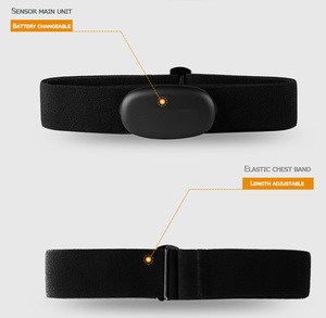Image 4 - Bluetooth & Ant+ Heart Rate Monitor Cycling BLE 4.0 ANT Pulse Meter Polar Garmin Wahoo Strava Heart Rate Sensor Chest Strap Belt