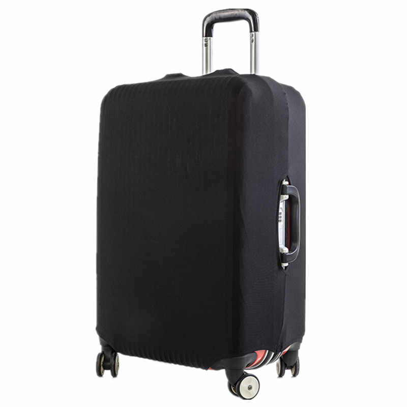 Brand Travel Thicken Solid Color Luggage Suitcase Protective Cover, Apply to 18-28inch Cases, Travel Accessories 2020
