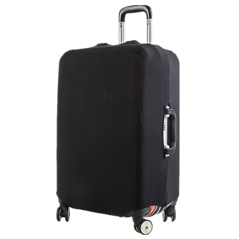 Brand Travel Thicken Solid  Color Luggage Suitcase Protective Cover, Apply To 18-28inch Cases, Travel Accessories 2019