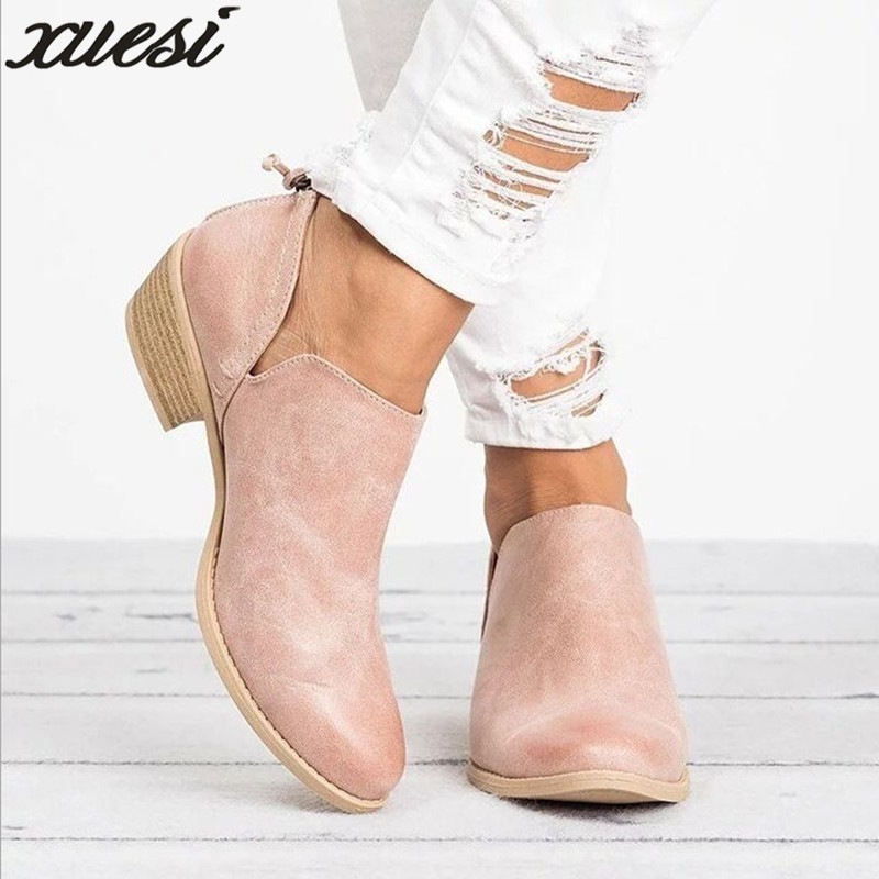 2018 Spring Autumn Women Butterfly-knot Chelsea Boots Slip-on Med High Heels Pointed Toe Shoes Woman Sexy Pumps Wedding Shoes 2018 spring summer new fashion silk women pumps sexy pointed toe shollow slip on high heels pumps party wedding shoes woman