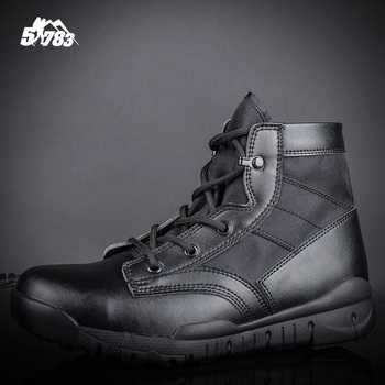 Soldier Outdoor Hiking BootsWalking Men US ARMY Climbing Shoes Sport Shoes Men Hiking Boots Hunting Non-slip Breathable Shoes