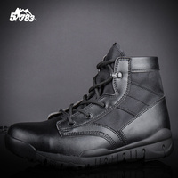 Soldier Outdoor Hiking BootsWalking Men US ARMY Climbing Shoes Sport Shoes Men Hiking Boots Hunting Non slip Breathable Shoes