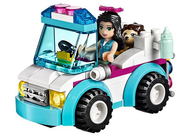 Bela 10534 Friends Series 41086 Vet Ambulance Emma Heartlake City Building Blocks Bricks Toy Children Gifts Friends