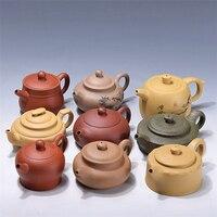 on sales Chinese tea pot real yixing zisha pot marked multi size kungfu pot of tea China authentic purple clay duan clay pots