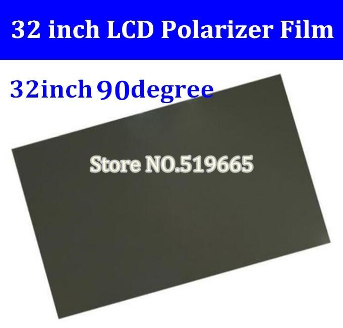 "32/"" 32 inch 0 90 degree LCD Polarizer Polarizing Film for LCD LED IPS TV Screen"