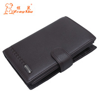 Multifunction PU Leather Men Travel Passport Bags Travel Passport Wallet Document Men Covers On The Russian