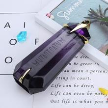 100ML Elegant Lady Perfumed Unique Shape Amber Longlasting Fragrance Bottle Glass Parfum Female Parfum Liquid Antiperspirant