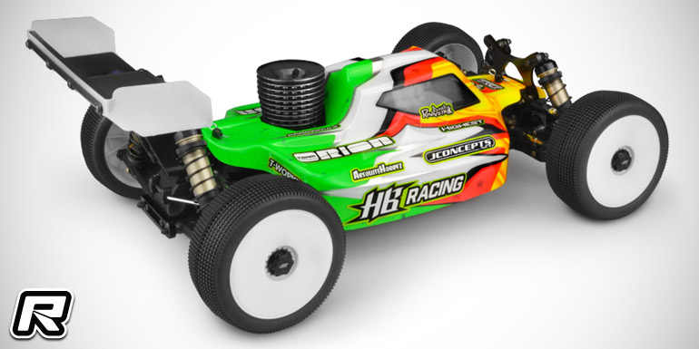 Jconcepts HB 1/8 buggy clear body Voor D817/819 MBX8