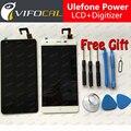 Ulefone Power Display LCD + Digitador Assembléia Tela de Toque + Ferramentas 100% Original Acessórios de Reposição Para Poder Ulefone