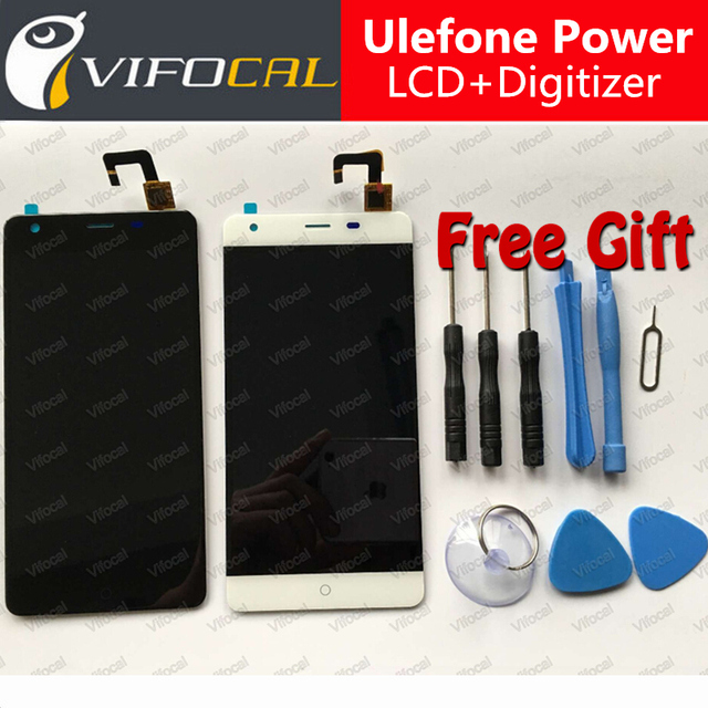 Ulefone Power LCD Display + Touch Screen + Tools 100% Original Digitizer Assembly Replacement Accessories For Ulefone Power