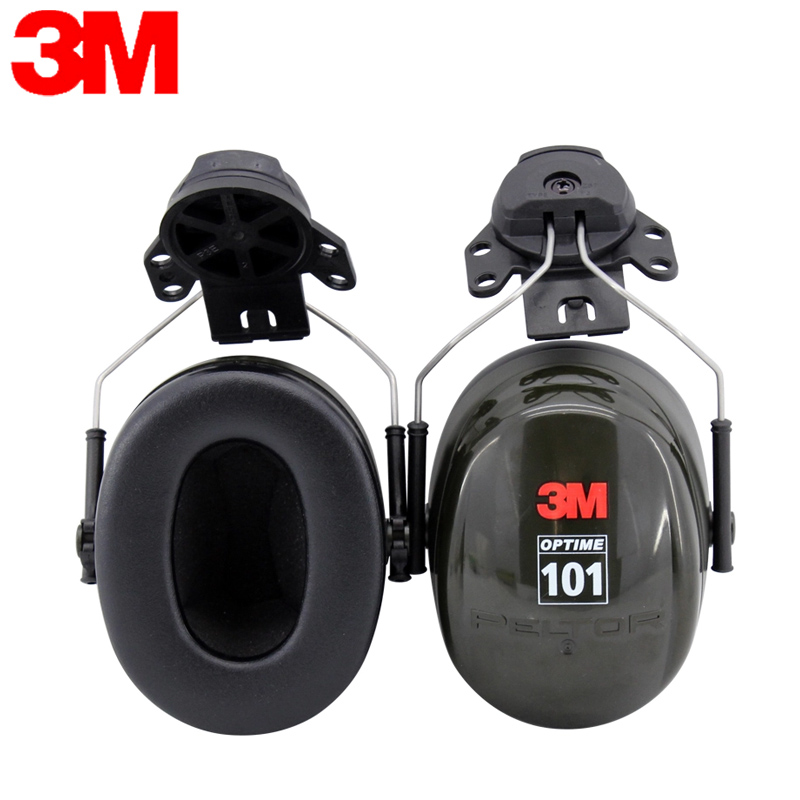 3M H7P3E Earmuffs Optime Earmuffs Hearing Conservation Anti noise Hearing Protector for Drivers Workers KU012