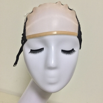 Mesh Front Glueless Lace Wig Cap For Making Wigs With Adjustable Straps Weaving Caps For Women Hair & Hairnets Easycap  6021 1