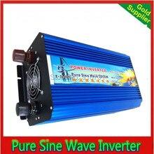 sinus omvormer pure sine inverter 2500W pure sine wave inverter 24v 240v 60hz power supply peak 5000W DC12V 24V 48V
