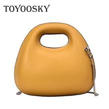 TOYOOSKY Women Handbag Girl Mini New 2019 Famous Designer Crossbody Bag Fashion Shoulder PU Leather Messenger Bags