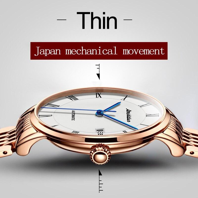 Высокое качество Для мужчин Часы Лидирующий бренд Роскошный Сапфир Водонепроницаемый Часы Для мужчин автоматические механические наручны...