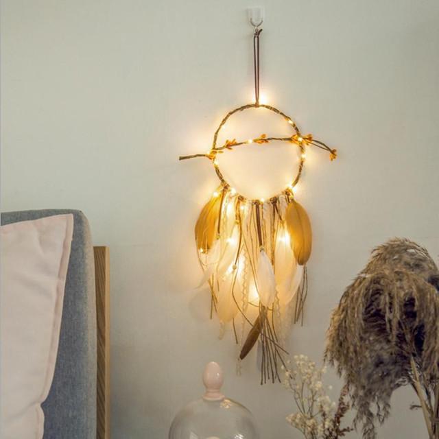 LED Light Girl Dreamcatcher
