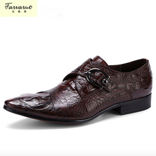 wedding genuine leather mens shoes sales black brown fashion Italian male shoes