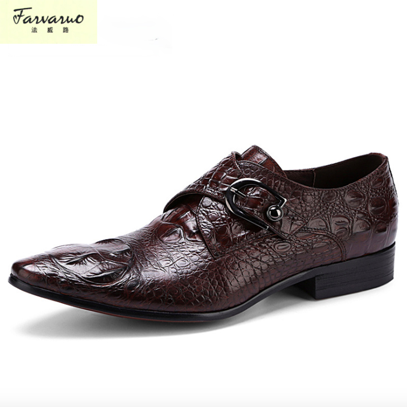 wedding genuine leather mens shoes sales black brown fashion Italian male shoes  цена и фото