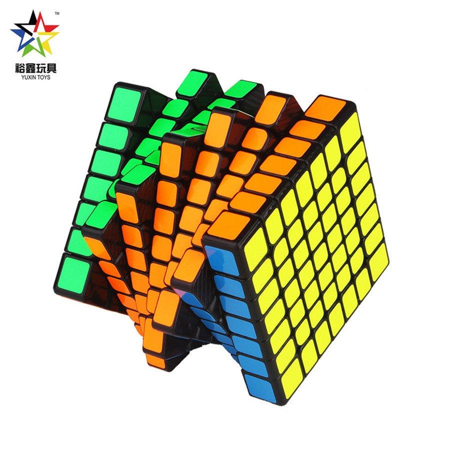 Yuxin Hays 7x7x7 et Hays M 7x7x7 magnétique Vesion Zhisheng Magic Cube aimants professionnels Puzzle Speed Cube jouets éducatifs