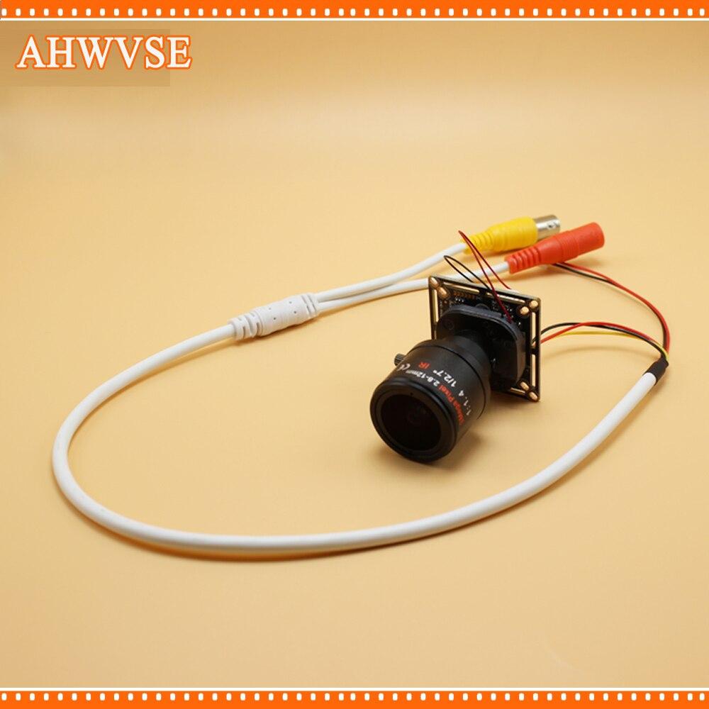 AHWVSE 4pcs/lot HD 1080P AHD Camera Long distance 2.8-12mm Lens CMOS IR Cut Filter 1MP 2MP 720P Mini Security Camera For AHD DVR пледы tango плед микрофибра tango фланель евро 200x220
