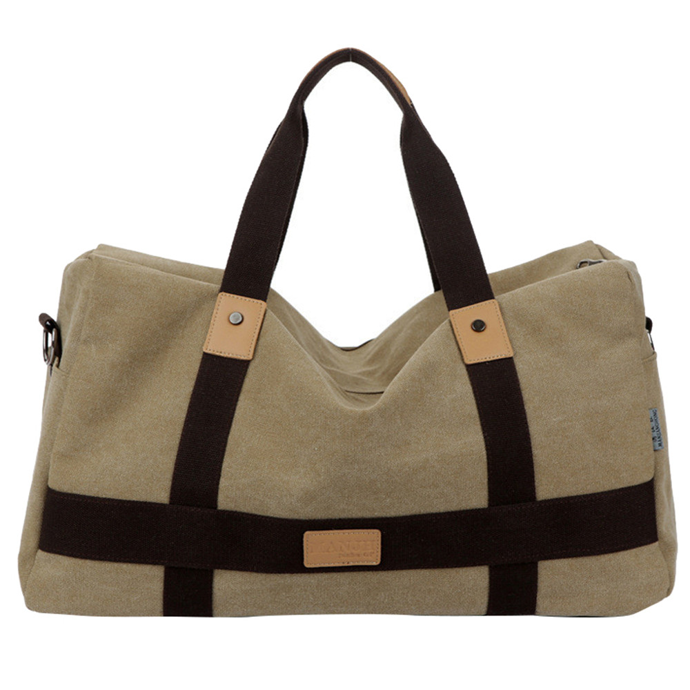 New Vintage Men Canvas handbag High Quality Travel Bags Large Capacity Women Luggage Travel Duffle Bags Folding Bag bolsas