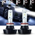 2x 9005 9006 H7 H8 H11 H4 160W 16000LM Auto Front Bulbs Car LED Headlights Bulb Head Lamp Fog Light Kit Hi/Lo Beam White 6000K