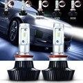 2x9005 9006 H7 H8 H11 H4 160 W 16000LM Delantero Auto Bombillas coche Faros LED Lámpara Cabeza de La Lámpara Luz de Niebla Kit Hi/Lo de Haz Blanco 6000 K