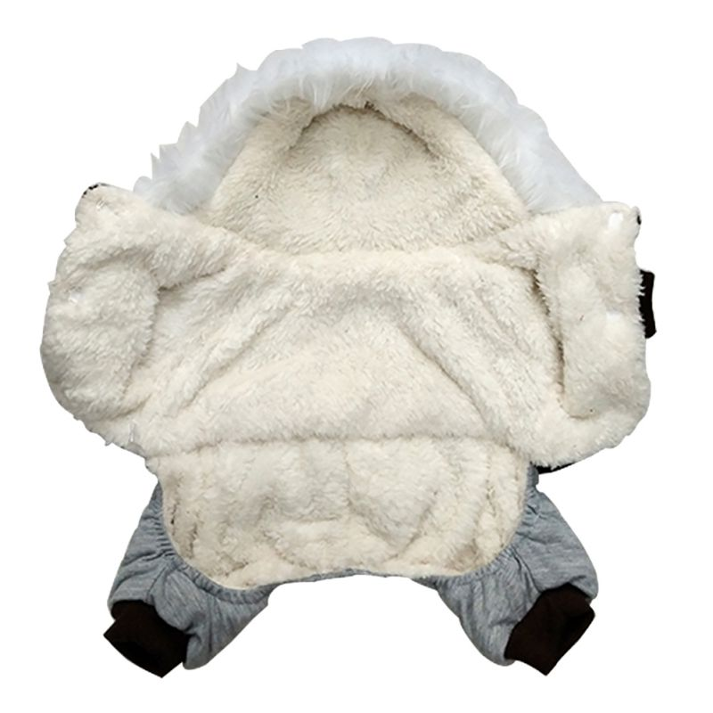 Dog Clothes Thickening Corduroy Warm Small Dog Coat Jacket Cute Pet Dog Costume Winter Clothes Chihuahua