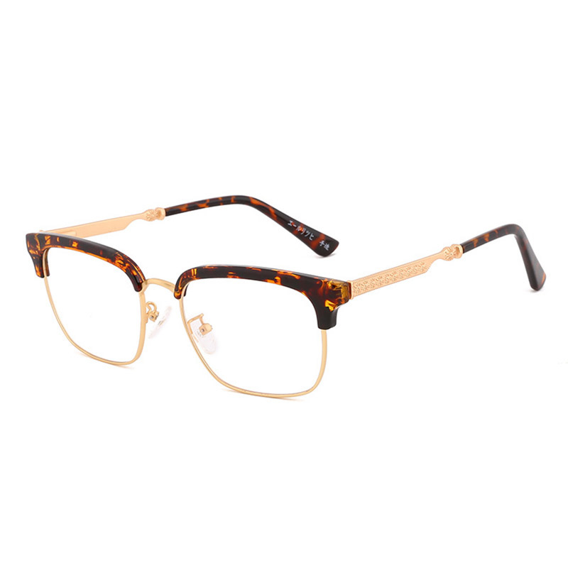 Handoer 8013 Optical Glasses Frame For Men And Women Alloy Eyewear Full Rim Alloy Spectacles Glasses Optical Prescription Frame