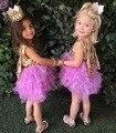 EMS DHL Бесплатная Доставка малышей Маленькие Девочки детская Марли Dress туту Партия Dress Пром Seuqin Искра Праздник Свадебная одежда