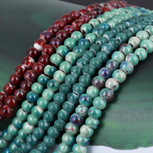 цены GDFSY 4 Color 52cm Ceramics Round Beads Handwork Necklace Unisex Fashion Birthday Gifts Party Travel S031