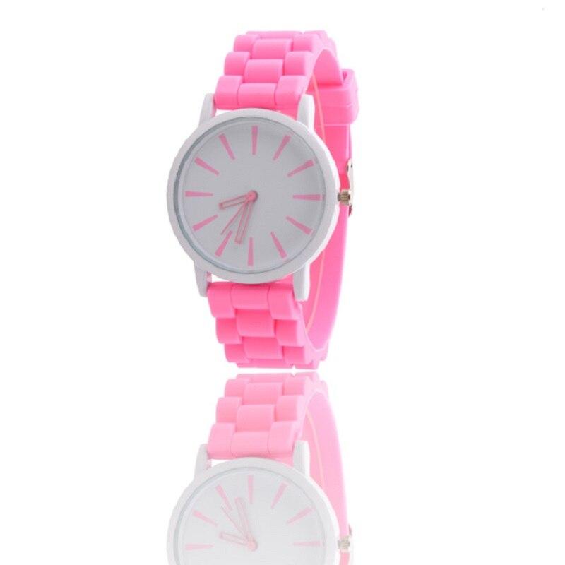 Ultra-plānas Candy Color Silicone Girl Sieviešu pulkstenis Quartz Timepiece Clock Timer relogio feminino Rokas pulksteņi sievietēm