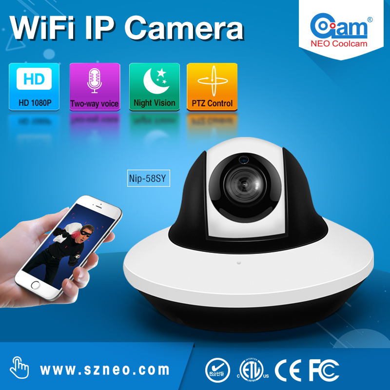 NEO Coolcam NIP-58SY 1080P HD Outdoor Dome IP Camera Support Motion Detection.Push Notificationfree shipping куртка nip nip14qv03