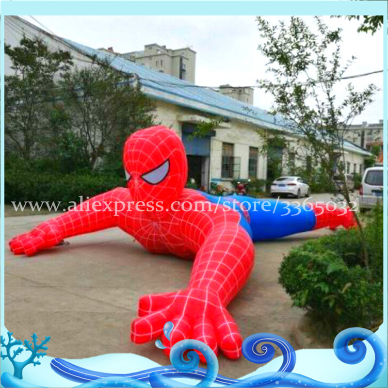 Spiderman Christmas.Us 830 0 Most Popular Advertising Spider Man Replica Inflatable Spiderman Spiderman Christmas Inflatable In Inflatable Bouncers From Toys