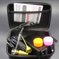 Hotest D Nail kit E Nail Coil PID TC Enail Dab rig with Bio Glass Pipes Honeycomb percolator Glass Water Pipes Oil Rigs