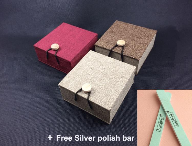100% Sterling Zilver 925 Weave Manchet Bangle Armband Mannen Vrouwen Medium Eenvoudige Korte Stijl Thain Zilver 925 Vintage Sieraden Geschenken - 6
