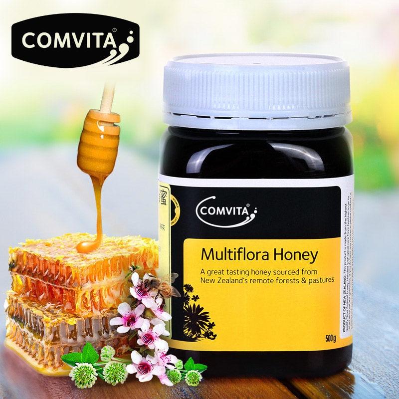 Original NewZealand Comvita Multiflora Honey 500g Super Premium Honey For Digestive Health Respiratory System Cough Sooth Throat