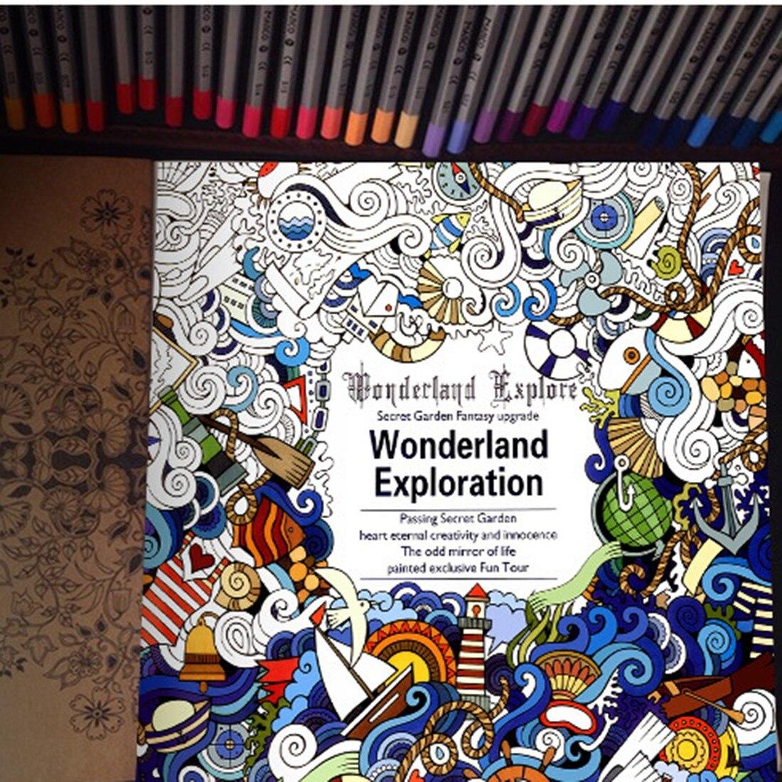 Secret Garden An Inky Treasure Hunt Color Book For Kids