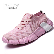 Women Men Sneakers Casual Sport Shoes Flats Lace-Up Fashion Running For Breathable Couple Female
