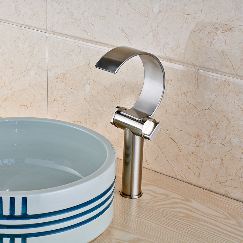 bathroom sink two faucets contemporary bathroom sink faucet handle waterfall 16595