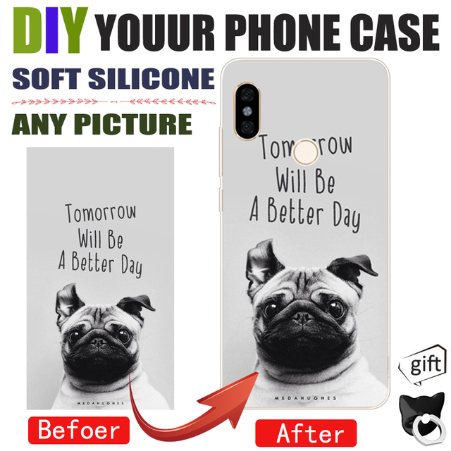 DIY Photo images Customize Phone Case Cover For xiaomi redmi s2 2 3 3s 3x note  2 3 5 pro note 4 4x 5a pro 4a Phone shell 70a934b2cc77