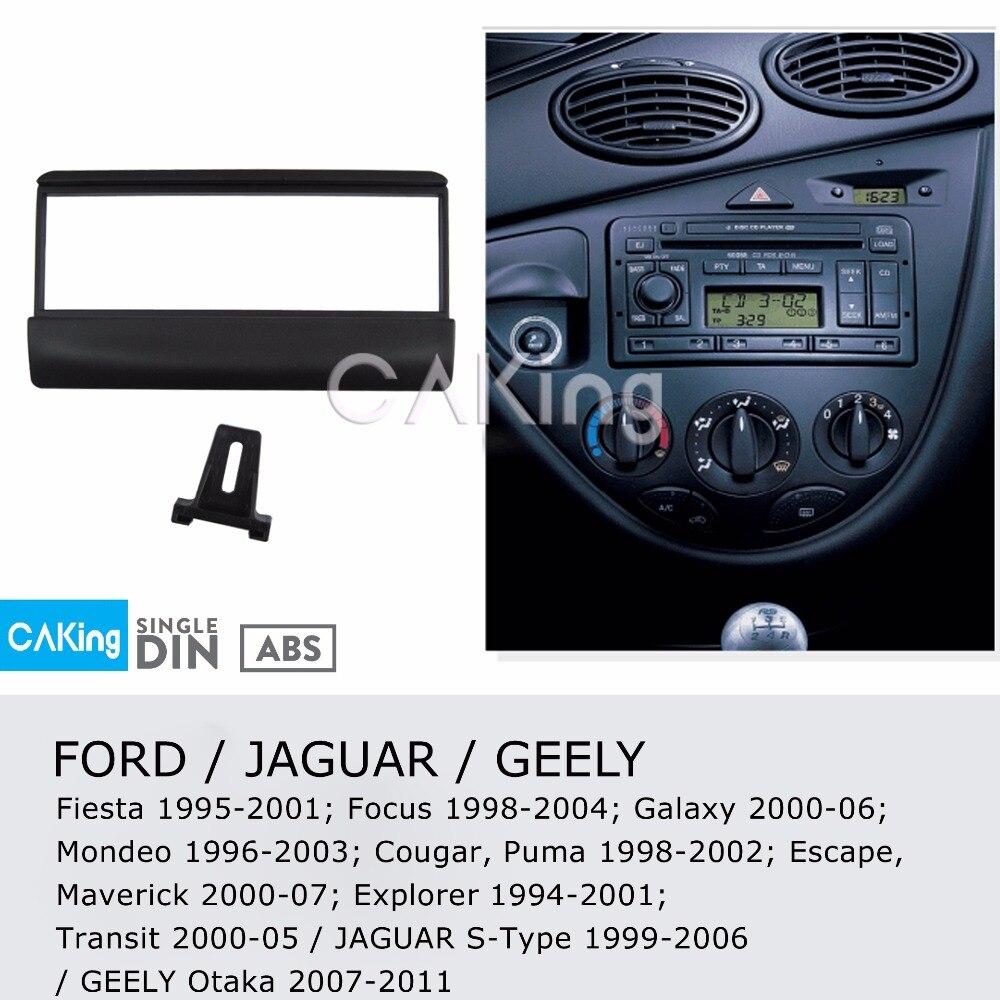Ford Fiesta 1995 to 2001 Black Facia Fascia Panel Car Radio Stereo Fitting Kit