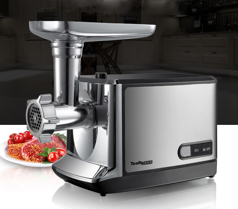 цена Household Electric Meat Grinder, Stainless Steel Meat Mincer, Household Mincing Machine THMGF500A